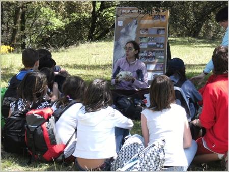 Educació i voluntariat parcs naturals