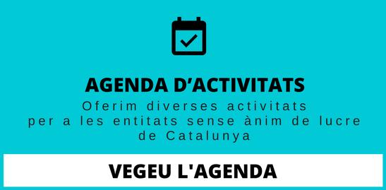 Agenda d'activitatsAgenda d'activitats