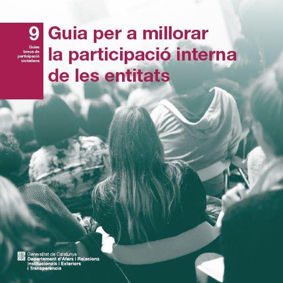 Guia per a millorar la participació interna de les entitats