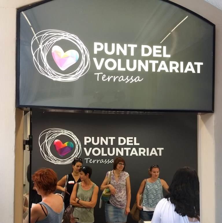 Els Punts de voluntariat local de Catalunya