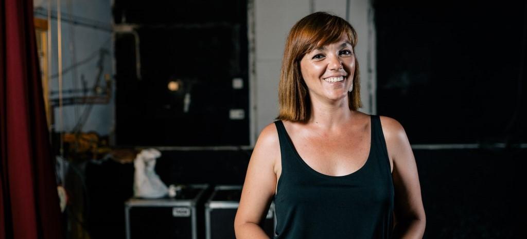 Meri López, voluntària al Cor Jove de Sentmenat