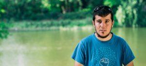 Adrià Compte, voluntari a l'Associació de Naturalistes de Girona