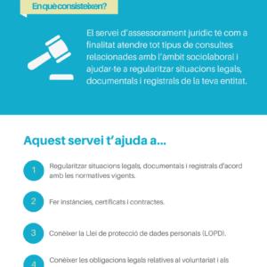 Servei d'assessorament jurídic