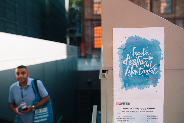 Cartell Escola d'Estiu del Voluntariat