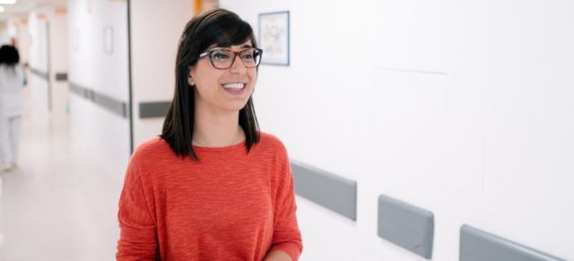 Laia Llopart, voluntària a l'Associació de Cardiopaties Congènites de Catalunya