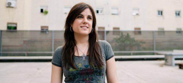 Laura Díaz, voluntària a l'AFEV
