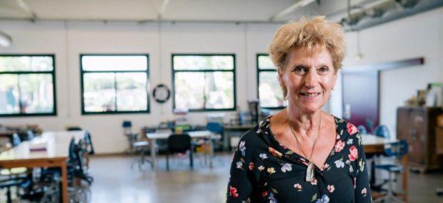 Maria Lladó, voluntària a la Fundació Santa Teresa del Vendrell