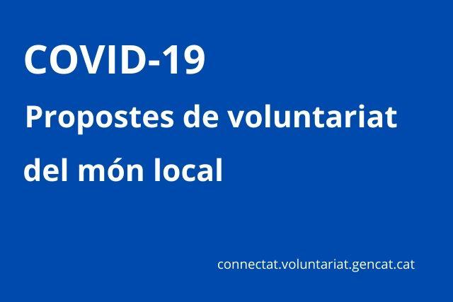 Consulta les propostes de voluntariat